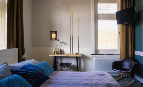 Hotel-Het-Scheepshuys-Breda-kleine-tweepersoonskamer